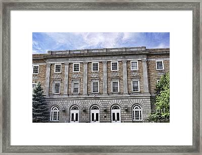 Prescott Court House  Framed Print by Saija  Lehtonen