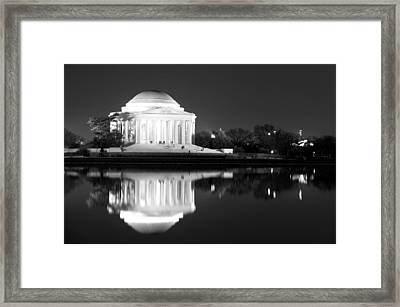 Presence Of A Rival Framed Print by Mitch Cat