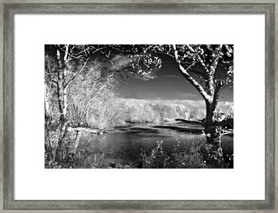Presence  Framed Print by Thomas  MacPherson Jr