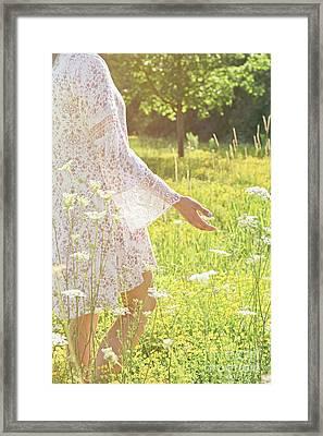 Present Moment.. Framed Print by Nina Stavlund