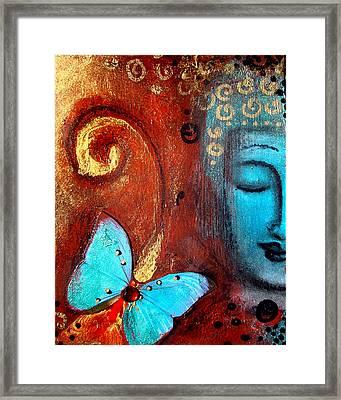 Present Moment Framed Print by Tara Catalano