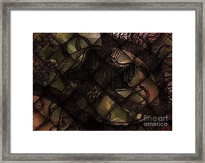 Present Tense Framed Print by Jason Ince
