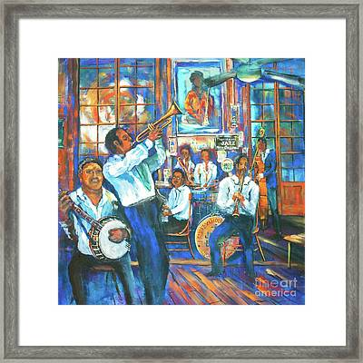 Preservation Jazz Framed Print