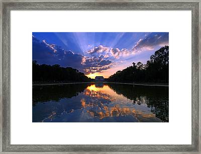 Preservation Of The Spirit Framed Print by Mitch Cat