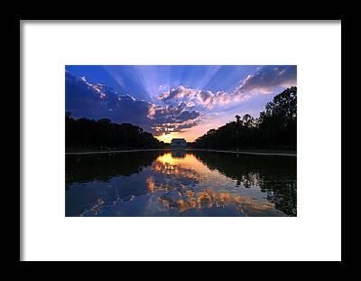 Lincoln Memorial Framed Prints