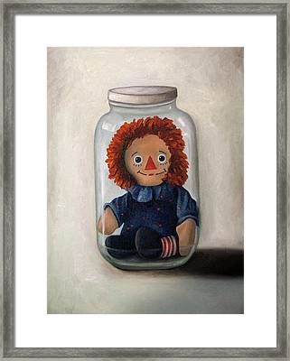 Preserving Childhood 2 Framed Print by Leah Saulnier The Painting Maniac