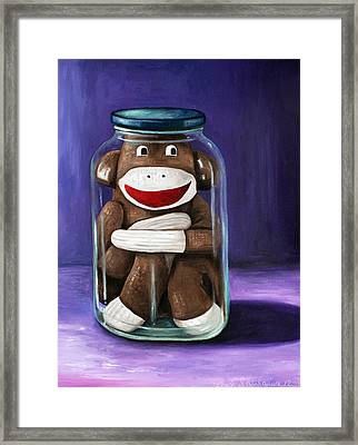 Preserving Childhood 3 Framed Print by Leah Saulnier The Painting Maniac