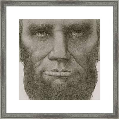 President Abraham Lincoln Framed Print by Gary Kaemmer