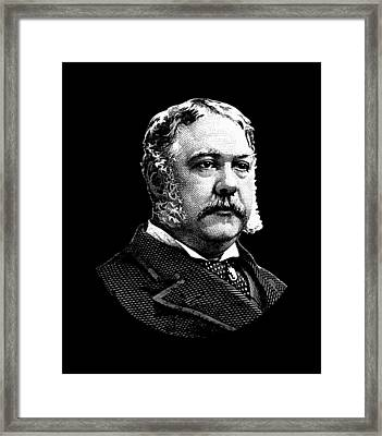 President Chester Arthur Framed Print by War Is Hell Store