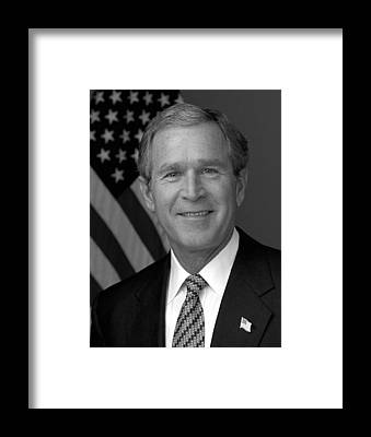 George Bush Framed Prints