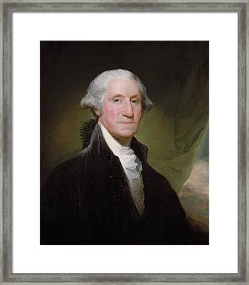 President George Washington Framed Print