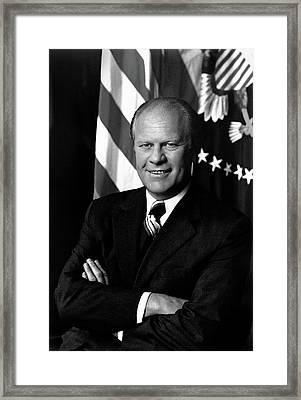 President Gerald Ford Framed Print