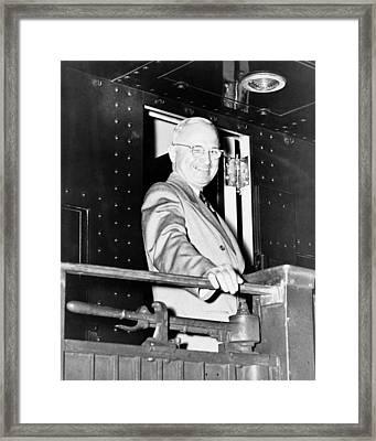 President Harry Truman Framed Print