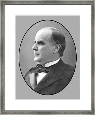 President Mckinley Framed Print