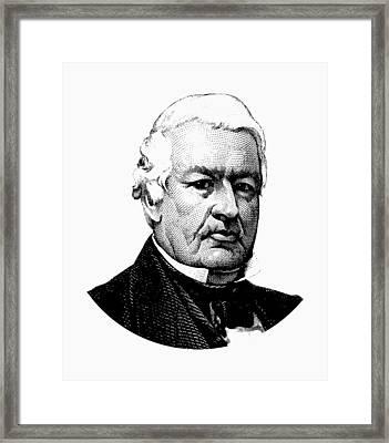 President Millard Fillmore Graphic Framed Print