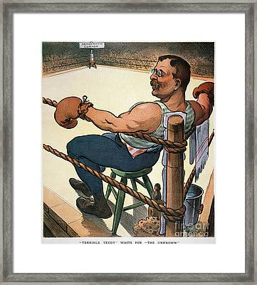 President Nomination, 1904 Framed Print by Granger