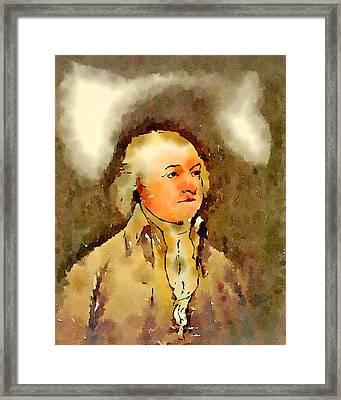 President Of The United States Of America John Adams Framed Print