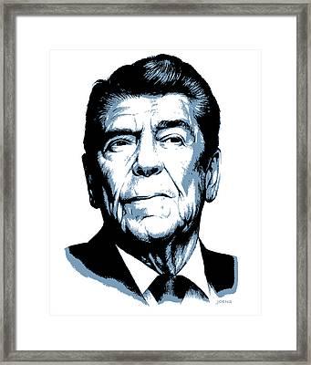 President Reagan Framed Print