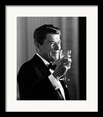 Reagan Paintings Framed Prints