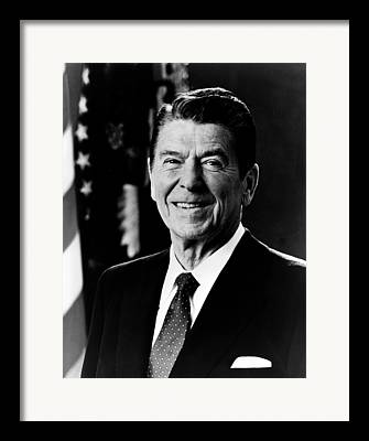 President Reagan Framed Prints