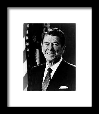 Ronald Reagan Framed Prints