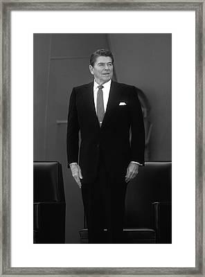 President Ronald Reagan - Two Framed Print