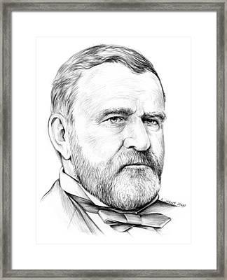 President Ulysses S Grant Framed Print by Greg Joens