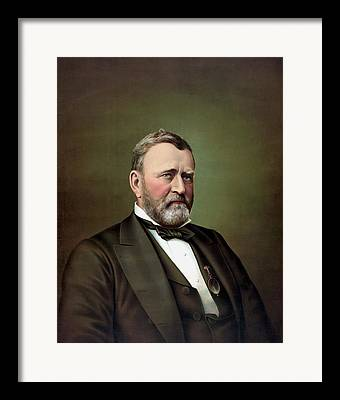 Ulysses S. Grant Framed Prints
