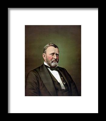 U. S. Presidents Framed Prints