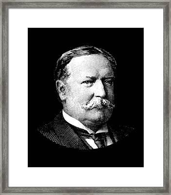 President William Howard Taft Framed Print by War Is Hell Store