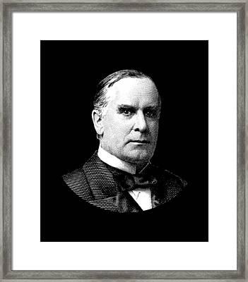 President William Mckinley Graphic Framed Print