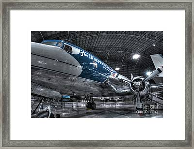 Presidential Aircraft - Douglas Vc-118 The Independence  Framed Print