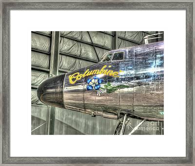 Presidential Aircraft - Lockheed Vc-121e Columbine Framed Print