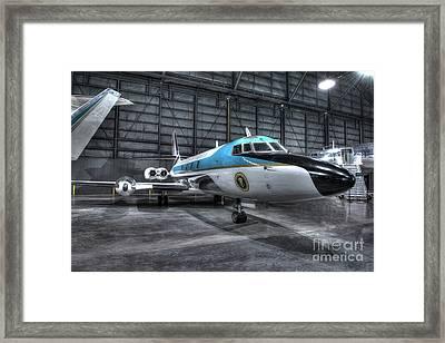 Presidential Aircraft - Lockheed Vc-140b Jetstar  Framed Print