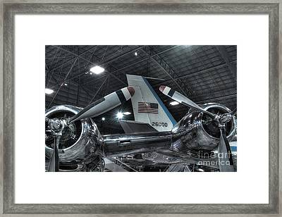 Presidential Aircraft - The Independence, Douglas Vc-118 And Sam 26000  Framed Print