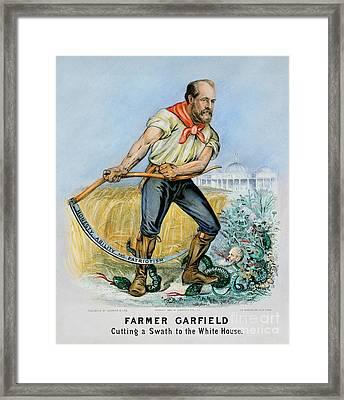 Presidential Campaign, 1880 Framed Print by Granger