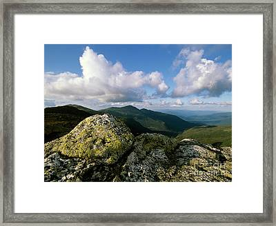Presidential Range - White Mountains New Hampshire Framed Print