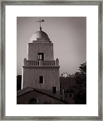 Presidio Of San Diego Framed Print