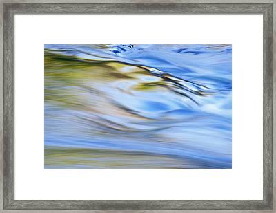 Presque Isle River Rapids Framed Print by Dean Pennala