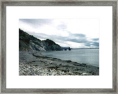 Presqu'ile 2000 Framed Print by Lori  Secouler-Beaudry