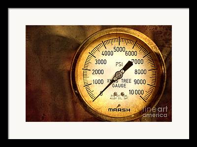 Gauge Framed Prints