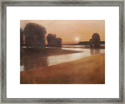 Preston Creek Flood Framed Print