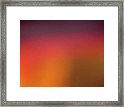 Framed Print featuring the photograph Pretend Sunrise by CML Brown