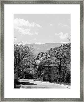 Pretoro - Landscape Framed Print