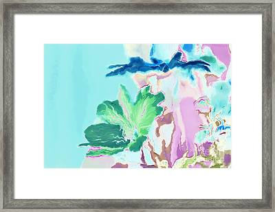 Pretty Bouquet A09z Framed Print by Variance Collections