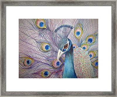 Framed Print featuring the painting Pretty Boy by Martha Ayotte