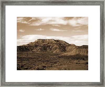 Pretty Butte Framed Print