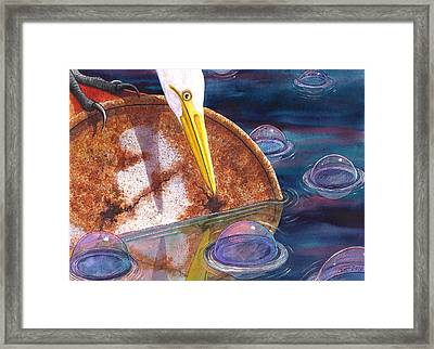 Pretty Colors Framed Print by Catherine G McElroy