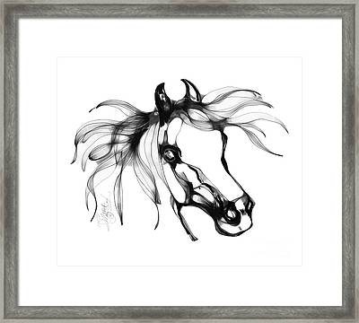 Pretty Filly's Ears Framed Print by Stacey Mayer