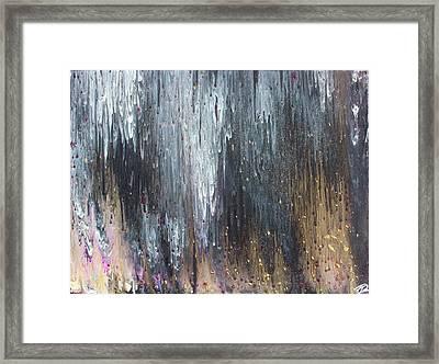 Pretty Hurts Framed Print by Cyrionna The Cyerial Artist